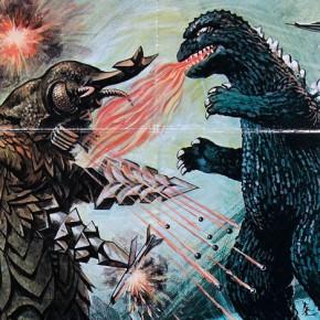 Godzilla vs. Megalon - US one sheet