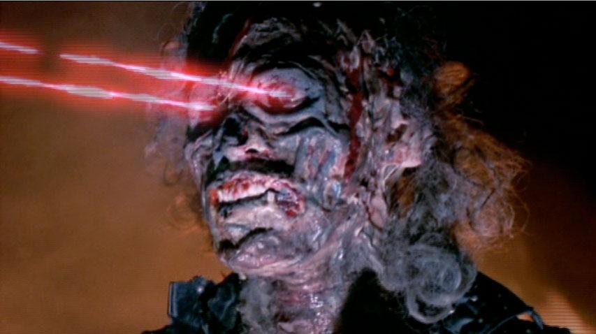 Lady Terminator's Laser Eyes