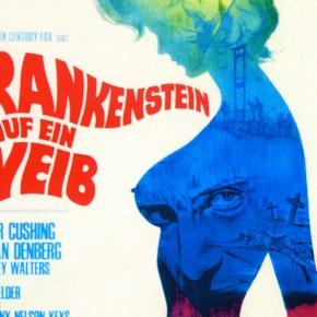 Frankenstein Created Woman - German poster
