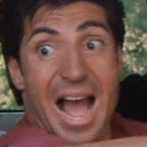 Man scream