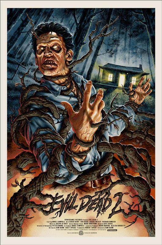 Evil Dead II by Jason Edmiston