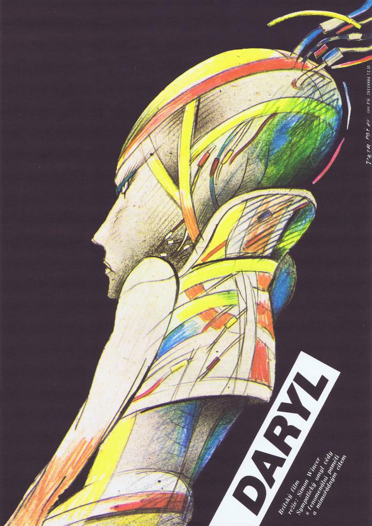 D.A.R.Y.L. - Czech poster