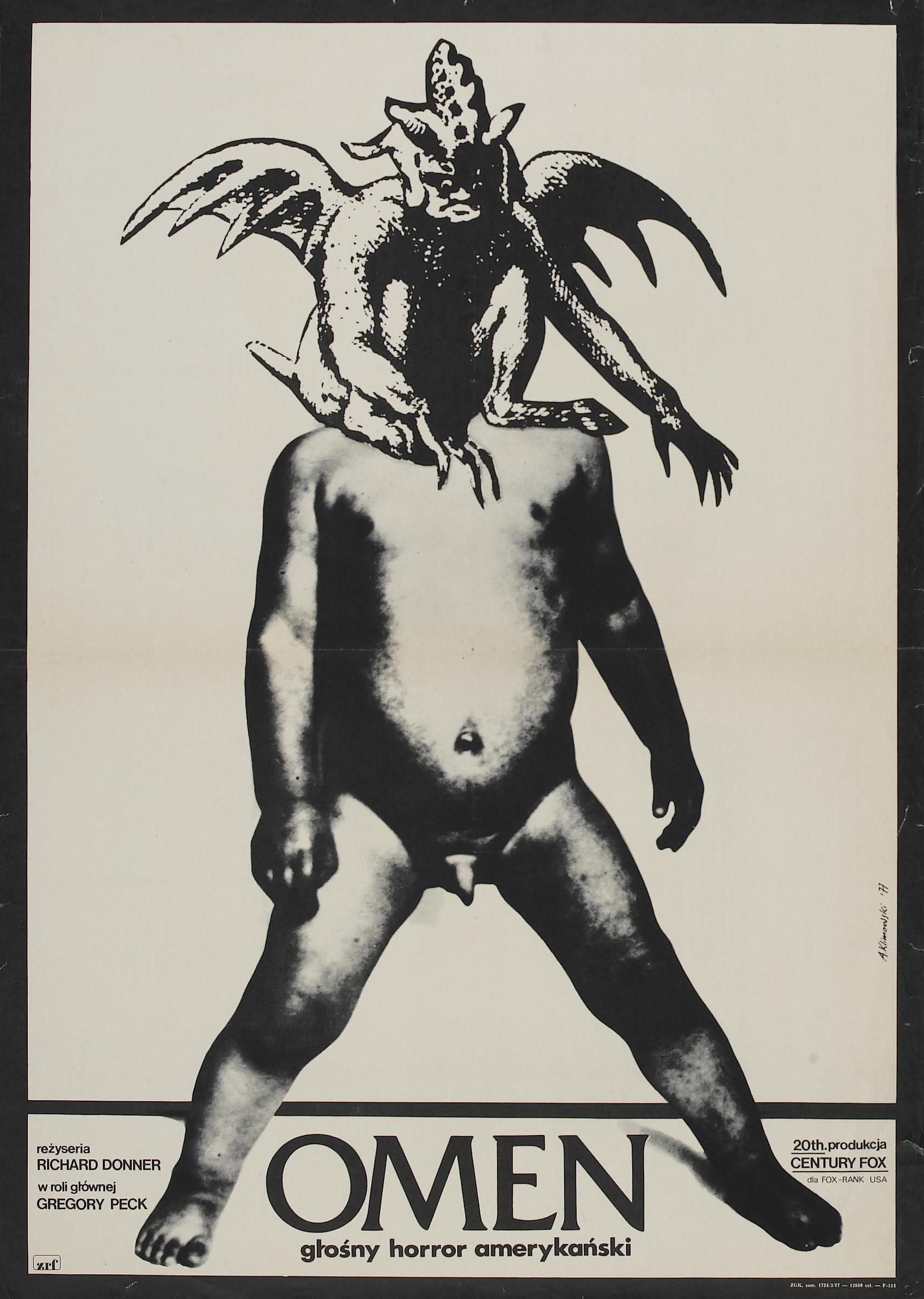 The Omen. - Polish poster