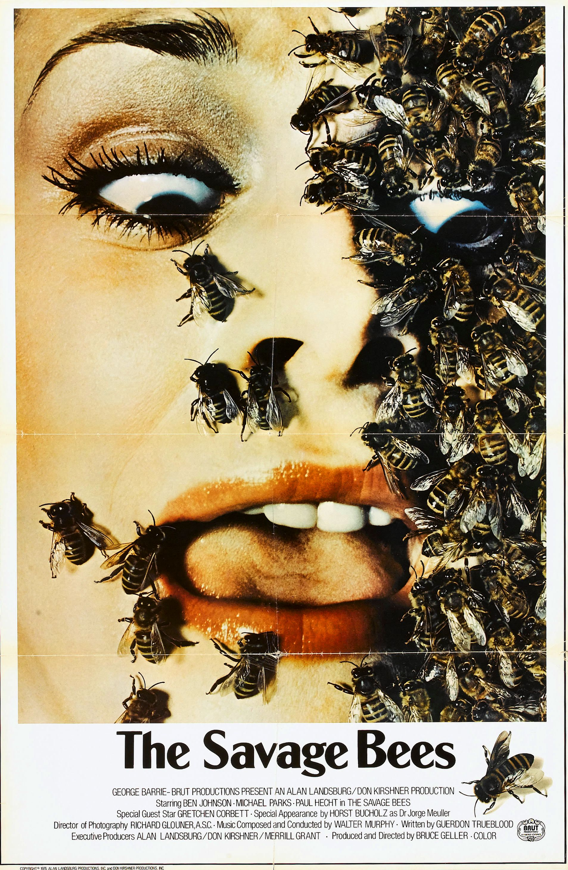 The Savage Bees US Poster