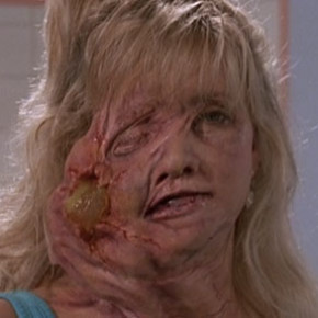 Giant exploding zit in Slumber Party Massacre II