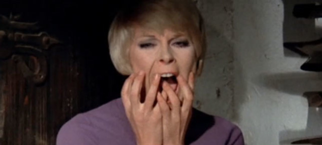 Elke Sommer's scream