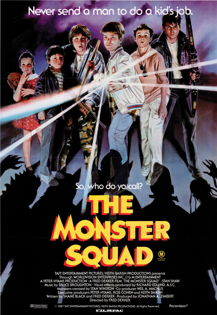 The Monster Squad - Australian poster