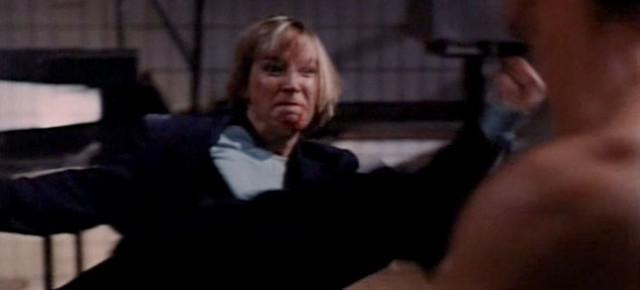 Cynthia Rothrock destroys Richard Norton with a thousand kicks