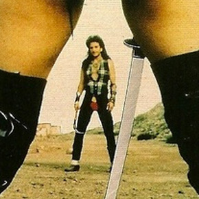 Roller Blade Warriors: Taken By Force - US VHS cover