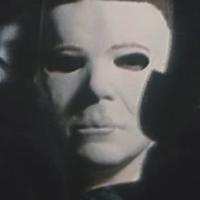Michael Myers flushes someone down a toilet