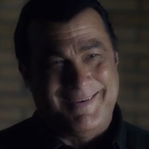 Steven Seagal doesn't know how or when to laugh