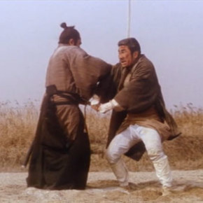 The incredible finale of Zatoichi and the Chest of Gold