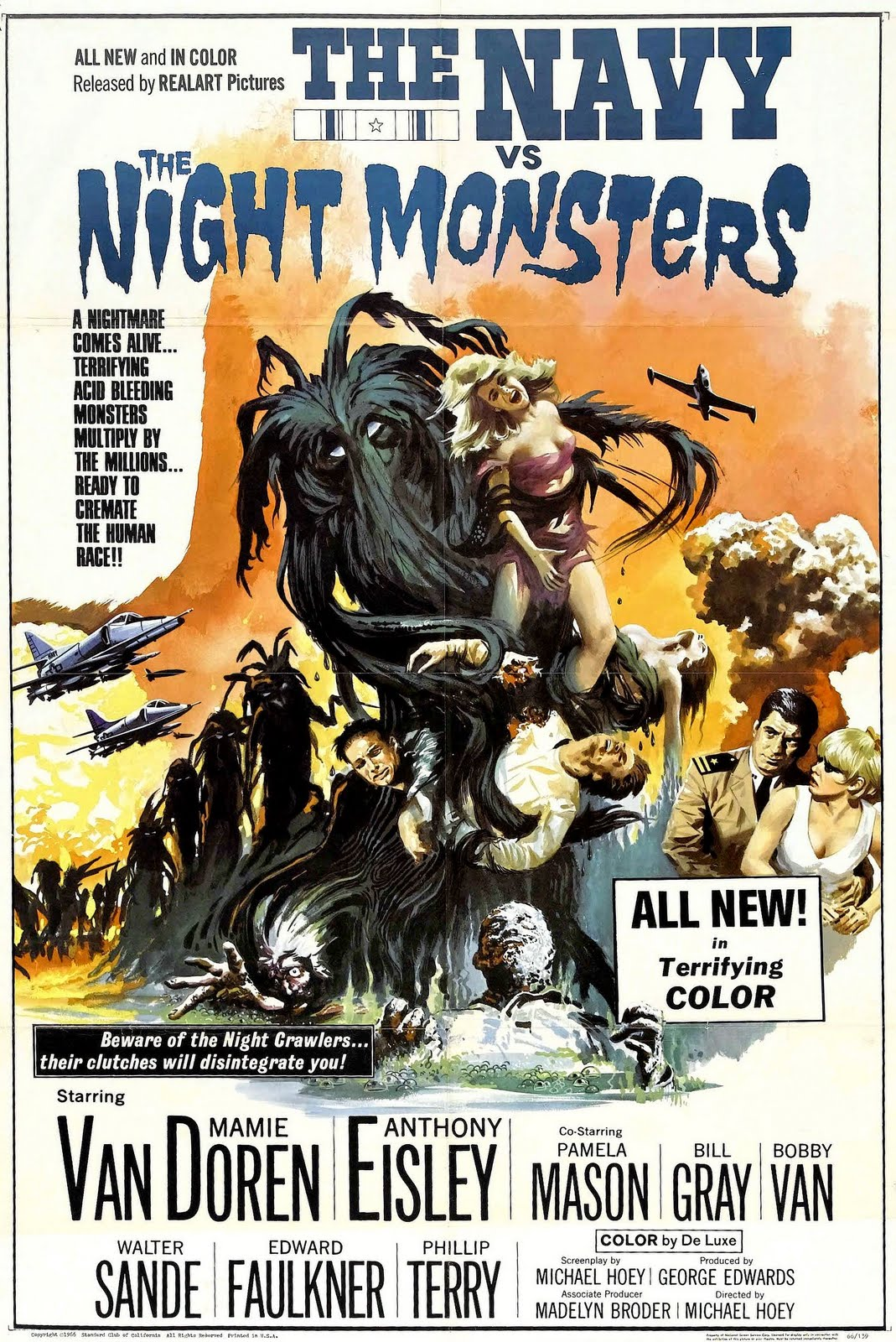 The Navy vs The Night Monsters