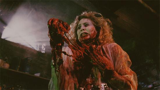 Kathleen Kinmont in Bride of Re-Animator (1990)