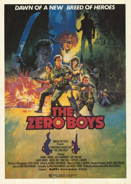 Zero Boys Poster