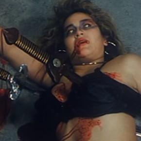 Vampire boob skewer