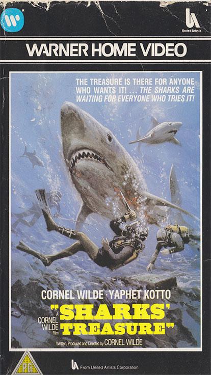Sharks' Treasure - VHS